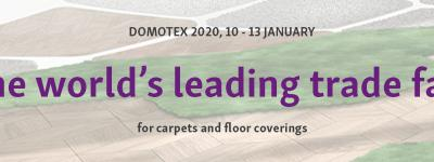 Visit us at Domotex 2020
